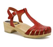 Swedish Hasbeens Sweet sandal red