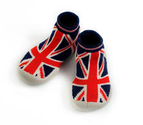 Moccasins with  flag