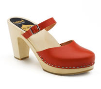 Swedish hasbeens Mary Jane red