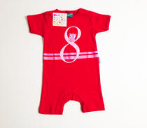 Eggkids body red with red print