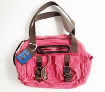 Bensimon bag pink canvas