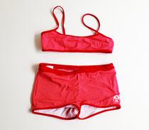 North sails bikini white/red checked